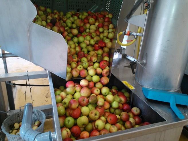 De appels gaan in de pers