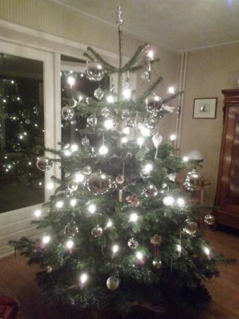 Onze kerstboom anno 2014