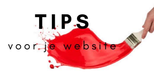 Tips voor je website