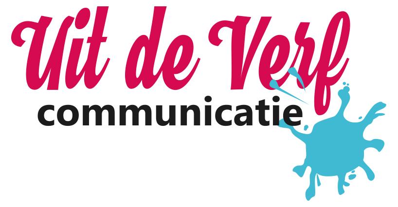 Logo Uit de Verf Communicatie