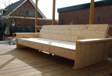houten-bank-maken