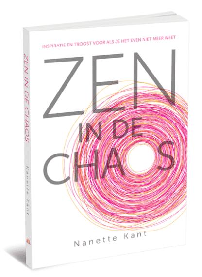 cover van het boek Zen in de chaos van Nanette Kant