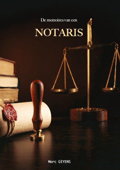 de memoires van een notaris cover