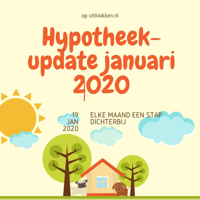 Hypotheekupdate januari 2020