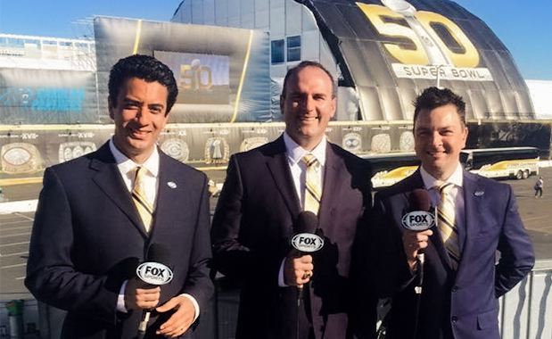 """Juan Carlos Vázquez de Fox Sports comparte """"El día de mi vida"""" con los alumnos de la UIW"""
