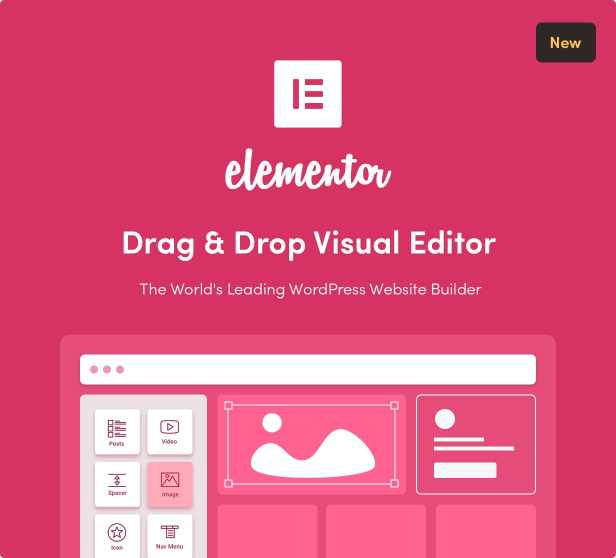 Sober WordPress theme with Elementor builder
