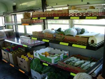 Inside of Our Mobile Market