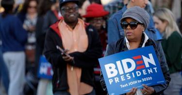 Black voters power Biden's Super Tuesday success