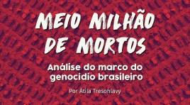 Meio milhão de mortos: análise do marco do genocídio brasileiro