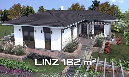 L alakú ház tetőszerkezete