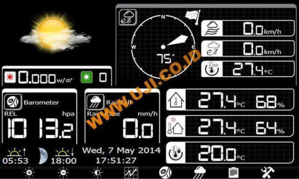 layar weather station AW003