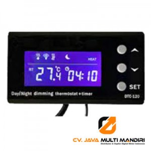 Termostat Dan Timer Akuarium Digital