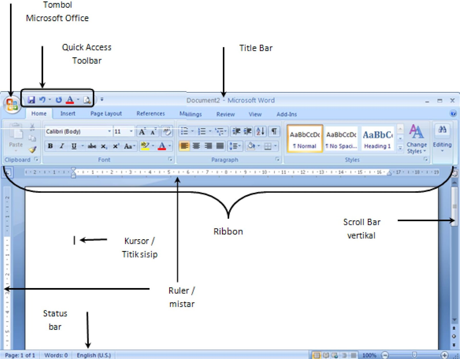 Cara Membuat Ribbon Pada Excel