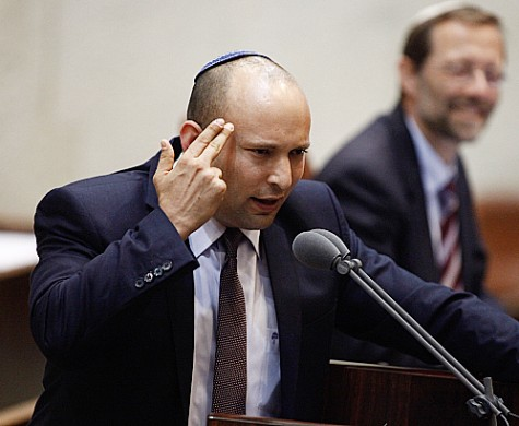 Naftali Bennett (Bayit Hajehudi) a kiszivárogtató? Fotó: illusztráció. Forrás: internet.