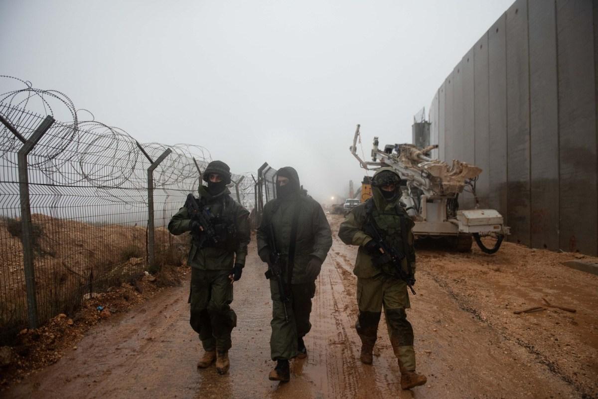 A hadsereg operatív tevékenységeket végzett a libanoni határnál