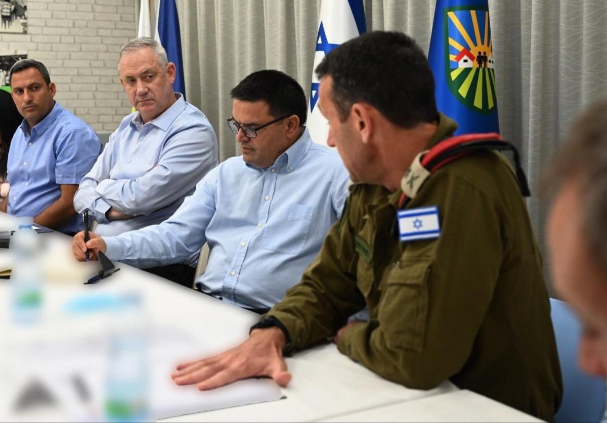 Először tett látogatást Gantz a déli határnál, mióta elfoglalta a védelmi miniszteri posztot