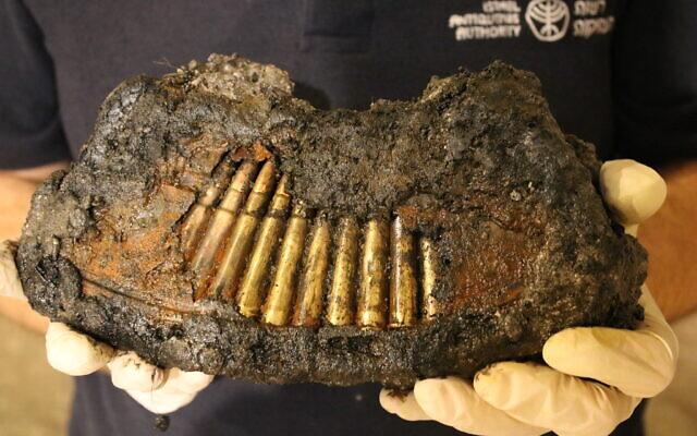 Jordán lőszereket találtak a Siratófal alatt a hatnapos háború idejéből