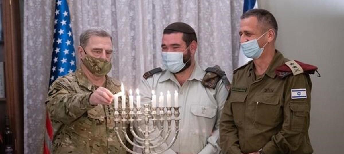 Riport: Izrael Milley tábornok látogatását kihasználva üzeneteket küldött Bidennek Iránnal kapcsolatban