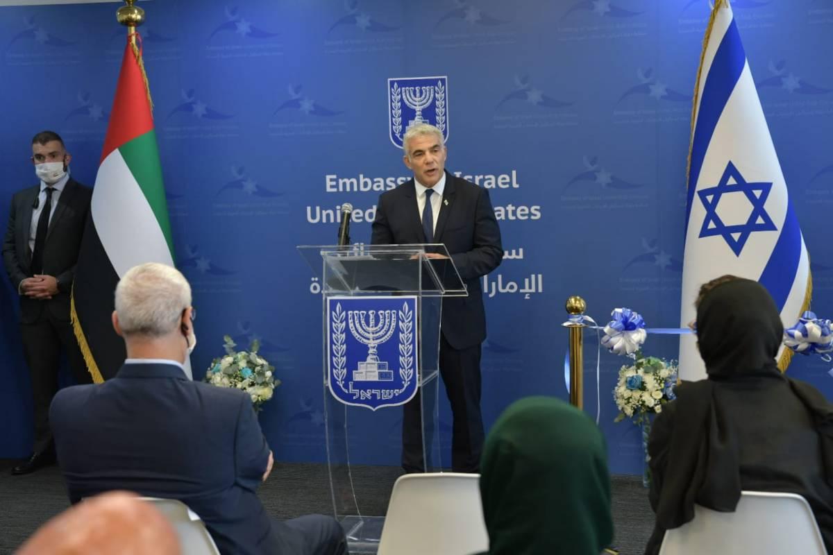 Lapid Abu Dzabiban: Köszönöm Netanjahunak, ez a pillanat éppúgy az övé, mint a miénk   Új Kelet online
