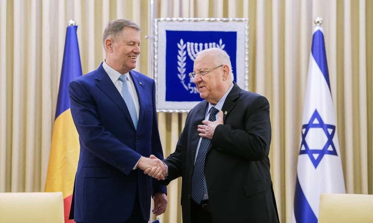 Reuven Rivlin elnök románul köszöntötte a Cotroceni palota díszőrségét   Új Kelet online