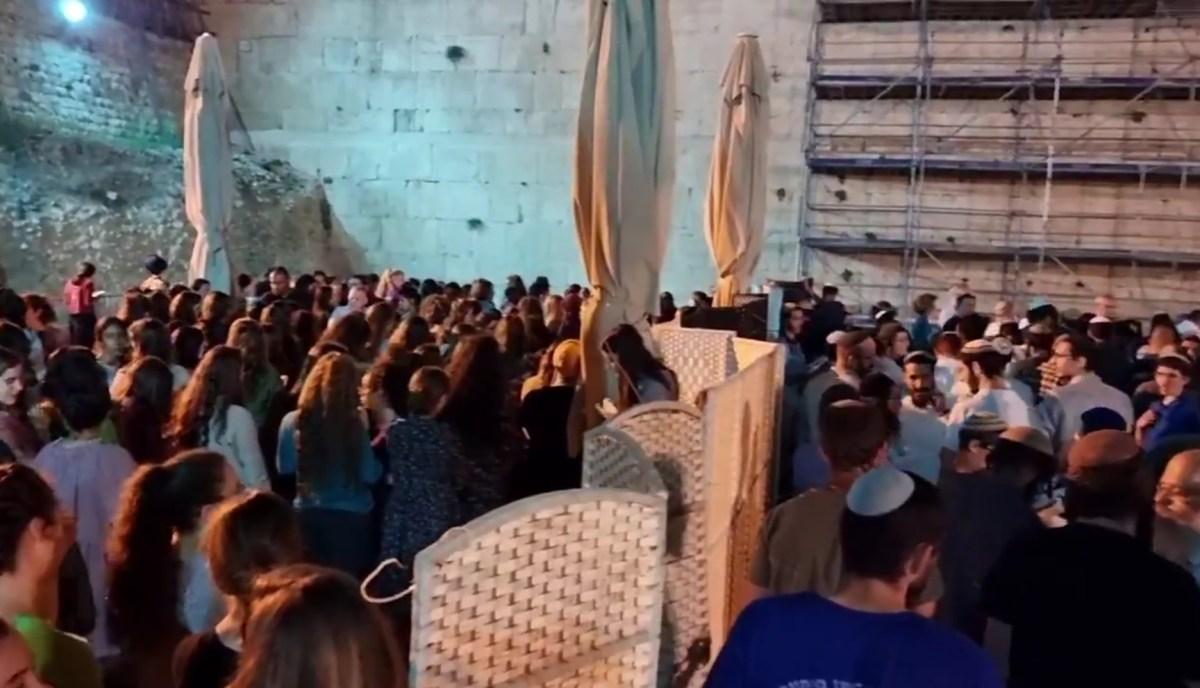 Szélsőjobboldali zsidók akadályozták a konzervatív mozgalom imáját a Siratófalnál Tisa Beávkor | Új Kelet online
