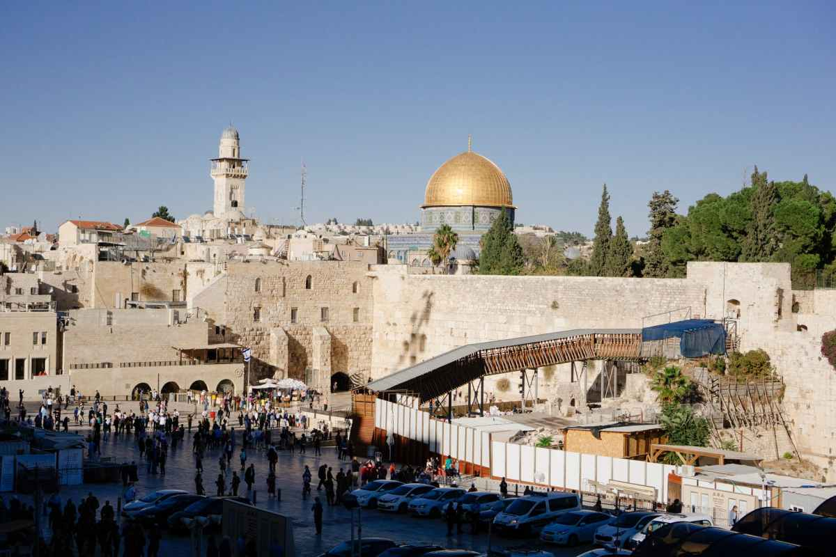 Kohanita áldás a Siratófalnál   Új Kelet online