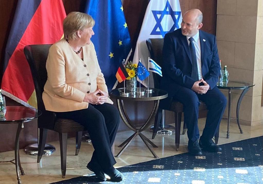 Merkel: Izrael biztonsága mindig központi témája lesz minden német kormánynak | Új Kelet online