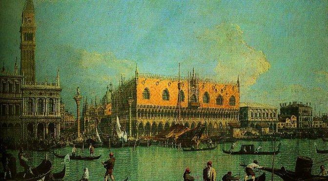 Telihold Velencében (részlet)