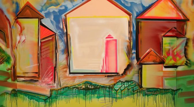 Artist in the house – Ferencz Dániel Házak című sorozatáról