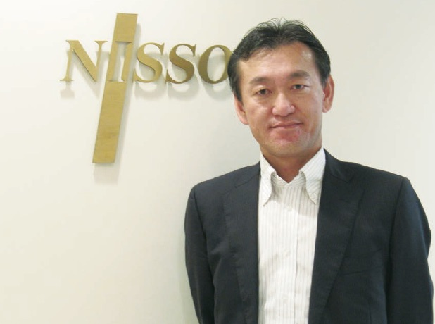NISSO AMERICA INC. President & COO 山﨑 博恭氏