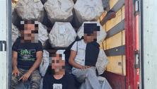 Hét afgán menekültet talált a rendőrség egy török kamionban Ipolyságon