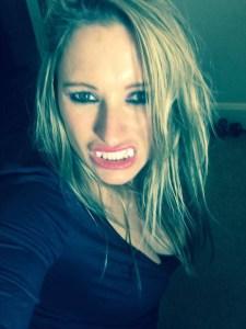 Mistress Kaz As A vampire