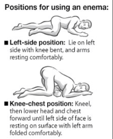 Positions For Douching