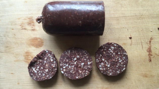 cut-black-pudding