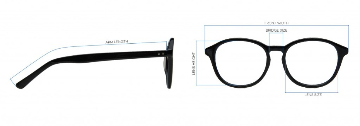 Glasses Frame Size | Eye Spy by SmartBuyGlasses | EyeStyle ...