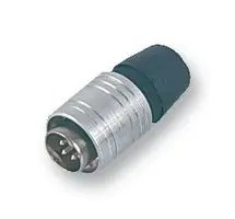 L1904A/8/FP - DIN Audio / Video Connector, Latching, 8 Contacts, Plug, Cable Mount, Crimp, Silver Plated Contacts