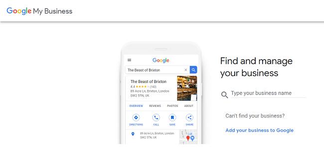 google maps add business