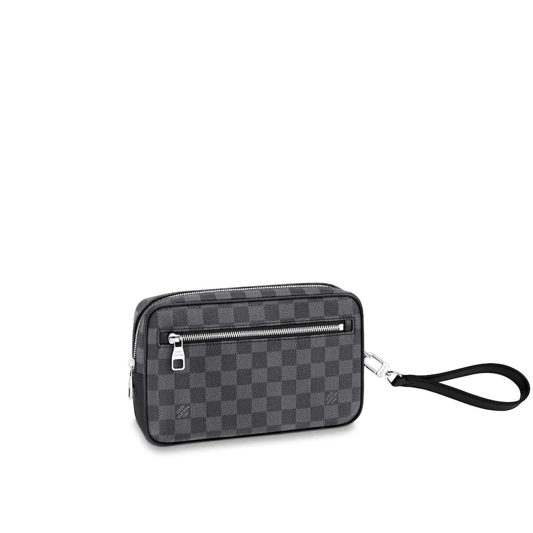 Men's Luxury Christmas Gift - Kasai Clutch Damier Graphite Canvas Men Men's Bags  | LOUIS VUITTON