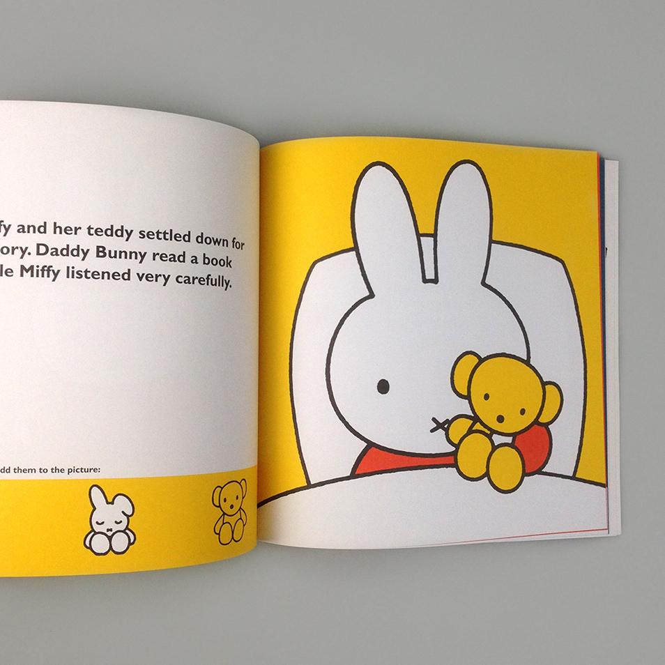 Miffys Bedtime Sticker Book Moon Picnic