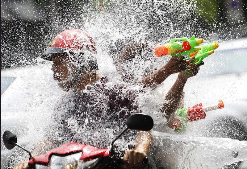 Thailand's national water fight is on