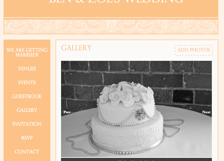 New Theme – Delicate Lace by Uniquely White