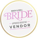Rock N Roll Bride Approved Rockstar Vendor