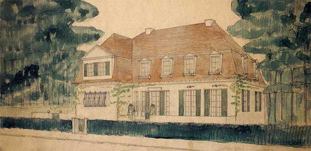 Werner House, Berlin-Zehlendorf (1912-13) - Mies van der Rohe