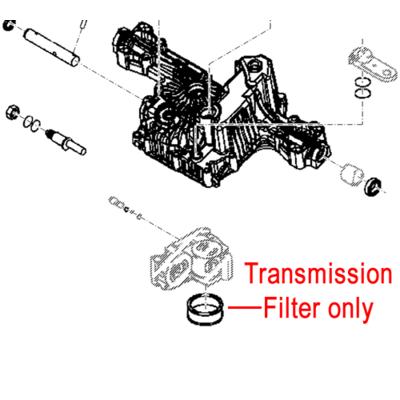 John Deere John Deere Transmission Filter M811687