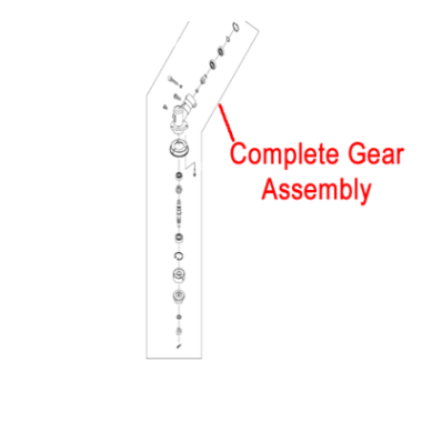 Gardencare Gardencare Gear Case Assembly Multi-Tool Brushcutter GCCG415.3