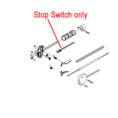 Gardencare Gardencare Stop Switch Brushcutter Trimmer GCCG260.2.1