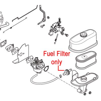 Mountfield Mountfield Fuel Filter 118550427/0