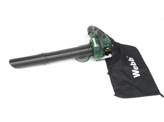Webb BV26 26cc Petrol Garden Blower Vacuum