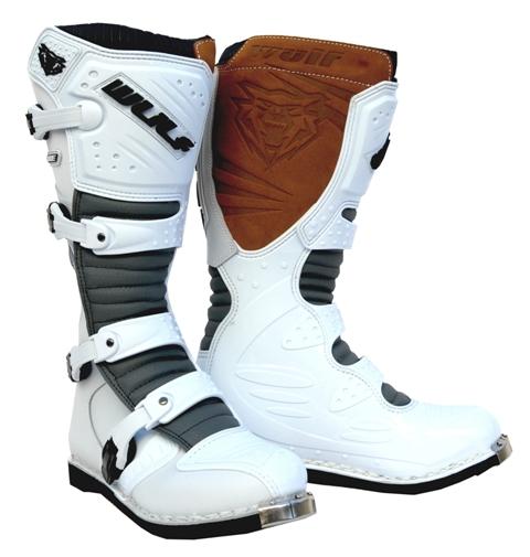 Wulfsport Super Boots-LA / White