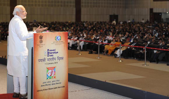 Pravasi Bharat Diwas 2015 – Modi fever persists among the diaspora at PBD 2015